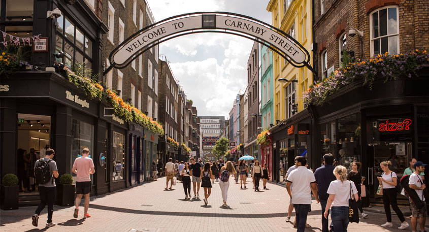 Image result for london shopping carnaby street