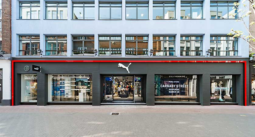 regard détaillé b8f3b bf1fc PUMA Store Reopens With A Fresh New Look
